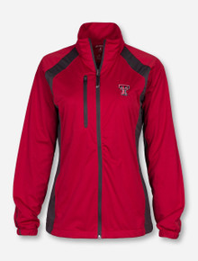 "Antigua Texas Tech ""Rendition"" Women's Red Jacket"