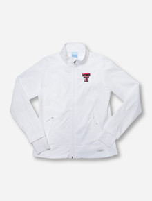 "Charles River Texas Tech ""Axis"" Soft Shell Women's White Jacket"