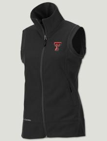 "Texas Tech Columbia ""Give & Go"" Women's Black Fleece Vest"