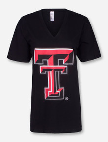 Texas Tech Double T V-Neck T-Shirt