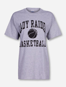 Texas Tech Lady Red Raiders Basketball Heather Grey T-Shirt