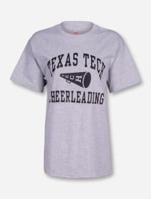 Texas Tech Cheerleading Heather Grey T-Shirt