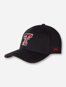 "Under Armour Texas Tech ""Armour"" Double T & XII Sized Stretch Fit Cap"
