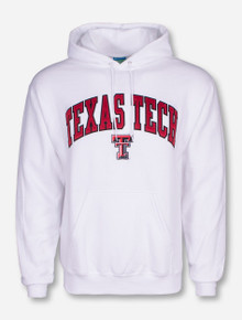 Champion® Texas Tech Tackle Twill Arch Hoodie