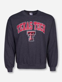 Texas Tech Arch Over Double T Sweatshirt