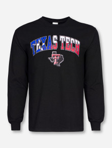 Texas Tech Arch Over Lone Star Pride Long Sleeve