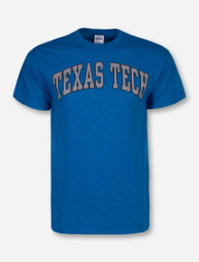 Classic Texas Tech Arch in Heather Grey T-Shirt