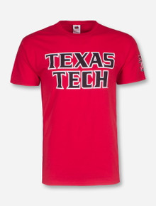 Texas Tech Football Font T-Shirt
