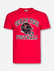 Texas Tech Football Helmet T-Shirt