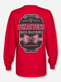 Texas Tech Southern Charming Bow Long Sleeve