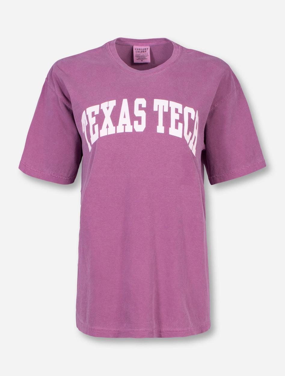 Classic Texas Tech Red Raiders White Arch T Shirt