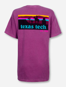 Texas Tech Western Sunset Silhouette T-Shirt