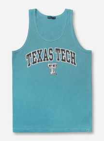 Texas Tech Arch over Double T Tank Top