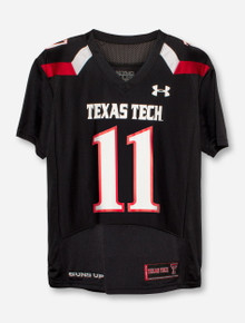 Under Armour Texas Tech #11 YOUTH Jersey