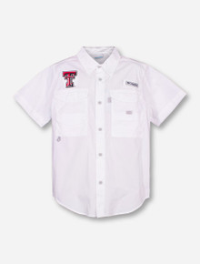 "Texas Tech Columbia ""Bonehead"" YOUTH Fishing Shirt"