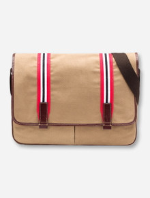 Jack Mason Texas Tech Tailgate Brown Messenger Bag
