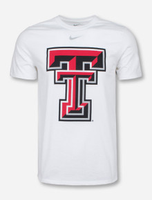 Nike Texas Tech Large Double T White T-Shirt