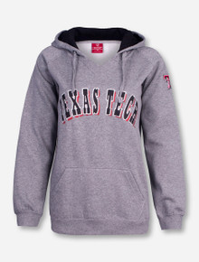 Arena Texas Tech Shine on Heather Grey Women's Hoodie