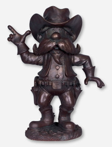Large Texas Tech Raider Red Bronze Statue
