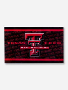 Double T & Texas Tech Red Raiders Black 3' x 5' Flag