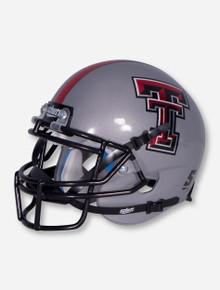Schutt Texas Tech Grey Mini Helmet