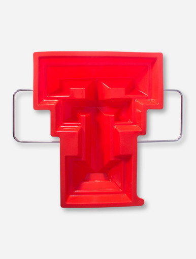 Texas Tech Double T Red Silicone Cake Pan Red Raiders