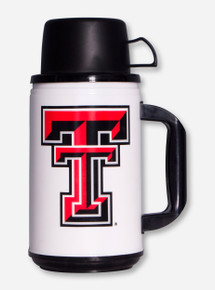 Double T White & Black Thermos & Cup