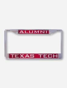 Alumni / Texas Tech University Red License Plate Frame