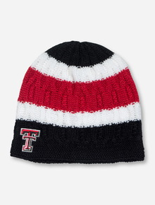 "47 Brand Texas Tech ""Anna"" Black, White & Red Beanie"
