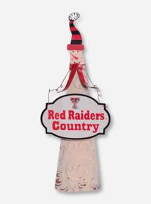 Texas Tech Red Raiders Country Snowman Figurine