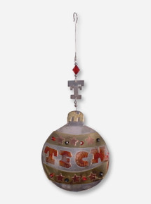 Copper Tech Ball Ornament