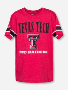 Arena Texas Tech Stamped on Red YOUTH T-Shirt