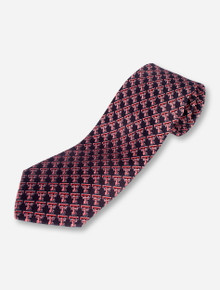 Texas Tech Double T Illusion Black Tie