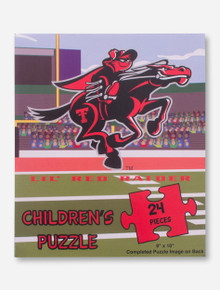 Children's Texas Tech 24 Piece Puzzle