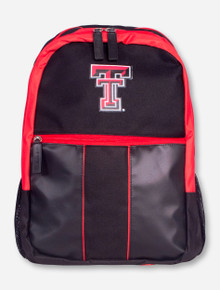 "Logo Texas Tech ""Victory"" Black Back Pack"