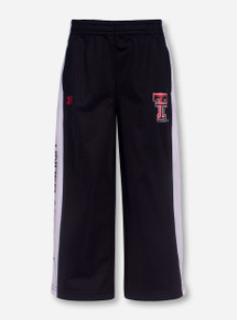 Under Armour Texas Tech Double T White and Black TODDLER Sweatpants