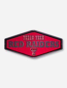 Texas Tech Red Raiders Embossed Metal Sign