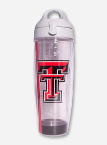 Tervis Texas Tech Double T on Clear Water Bottle