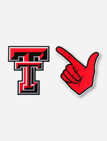 Texas Tech Guns Up and Double T Magnet