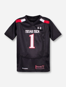 Under Armour Texas Tech Replica #1 TODDLER Jersey