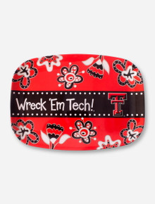 Wreck 'Em Tech Floral Serving Tray