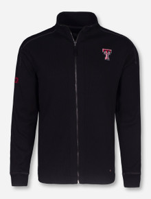 Chiliwear Texas Tech Transverse Men's Black Zip Up Jacket