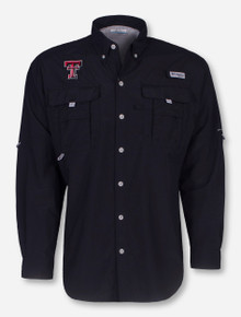 "Texas Tech Columbia ""Bahama"" Long Sleeve Fishing Shirt"