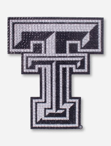 Texas Tech Large Bling Double T Decal