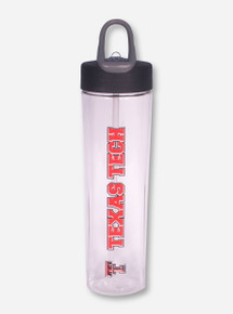 Vertical Texas Tech Water Bottle