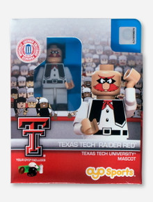 Texas Tech Lego Compatible Raider Red Minifigure
