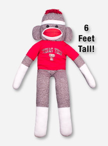 Texas Tech 6 Foot Tall Sock Monkey