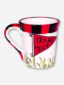 Texas Tech Flag Coffee Mug