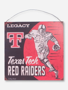 "Texas Tech ""Juke"" Tin Sign"