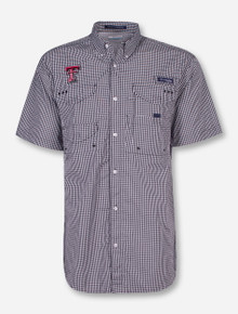 "Texas Tech Columbia ""Super Bonehead"" Short Sleeve Dress Shirt"